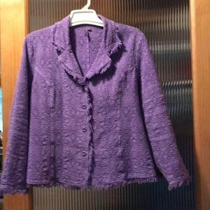 Focus Lavender Jacket Blazer